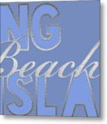 Long Beach Island Metal Print