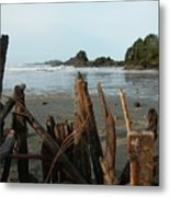 Long Beach, Tofino Metal Print