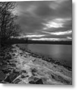 Long Cold Metal Print