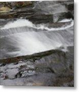 Long Creek Falls Swoosh Metal Print