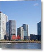 Long Island City Towers Metal Print