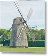 Long Island Wind Mill Metal Print