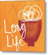 Long Life Noodle Bowl Metal Print