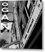 Long Live Logan Logan Theatre Metal Print