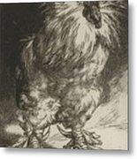 Long Live The Tzar Vive Le Tzar Felix Bracquemond 1833 - 1914 Metal Print