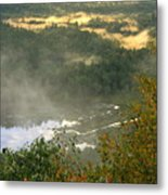 Long Pond Tully River Fog Metal Print
