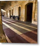Long Shadows In San Cristobal Metal Print