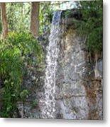 Long Waterfall Drop Metal Print
