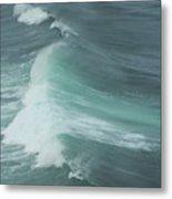Long Wave Metal Print