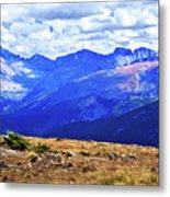 Longs Peak Rocky Mountain National Park Metal Print