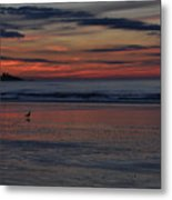 Longsands Dawn Metal Print