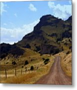 Lonly Road Metal Print