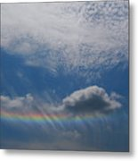 Look At The Sky Metal Print