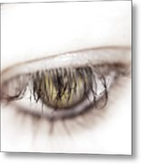 Look Away Metal Print