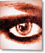 Look Into My Eye Metal Print