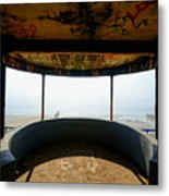 Look Out Post Interior Metal Print