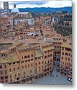 Looking Down On Il Campo Metal Print