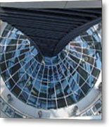 Looking Down The Reichstag Berlin Metal Print