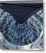 Looking Down The Reichstag Berlin Metal Print