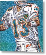 Looking Downfield Metal Print