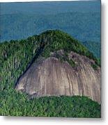 Looking Glass Rock Mountain In North Carolina Metal Print