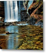 Through The Looking Glass Metal Print