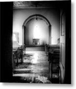 Looking Into The Past Metal Print