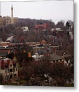 Looking North From  Lafayette And Summit. Metal Print