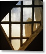 Looking Out From The Mercer Museum Metal Print
