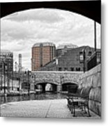 Looking Out From Under Metal Print
