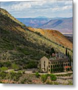 Looking Out Over The Hills Metal Print