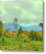Looking To The Mountains Metal Print