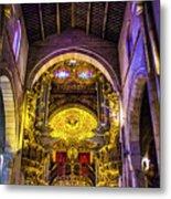 Looking Up In Brag Cathedral Metal Print