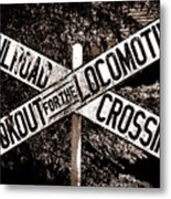 Lookout For The Locomotive Metal Print