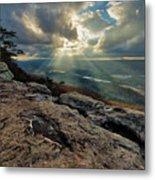 Lookout Mountain Sunset Metal Print