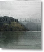 Lookout Point Lake Metal Print
