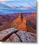 Lookout Point Sunrise Metal Print
