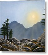Lookout Rock Metal Print