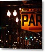 Loop Auto Park Metal Print by Jame Hayes