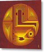 Lord Ganesha 2 Metal Print