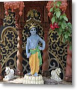 Lord Krishna Metal Print by Vijay Sharon Govender