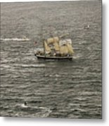 Lord Nelson Enters Sydney Harbour Metal Print