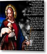 Lord Of The 23rd Psalm Metal Print