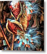 Lord Of The Dance - Paint Metal Print