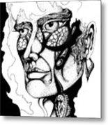Lord Of The Flies Study Metal Print