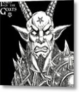 Lord Of The Goats Metal Print