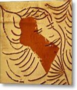 Lornah- Tile Metal Print