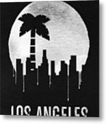 Los Angeles Landmark Black Metal Print
