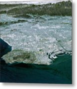 Los Angeles, Radar Image Metal Print by NASA / Science Source