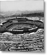 Los Angeles: Stadium, 1962 Metal Print